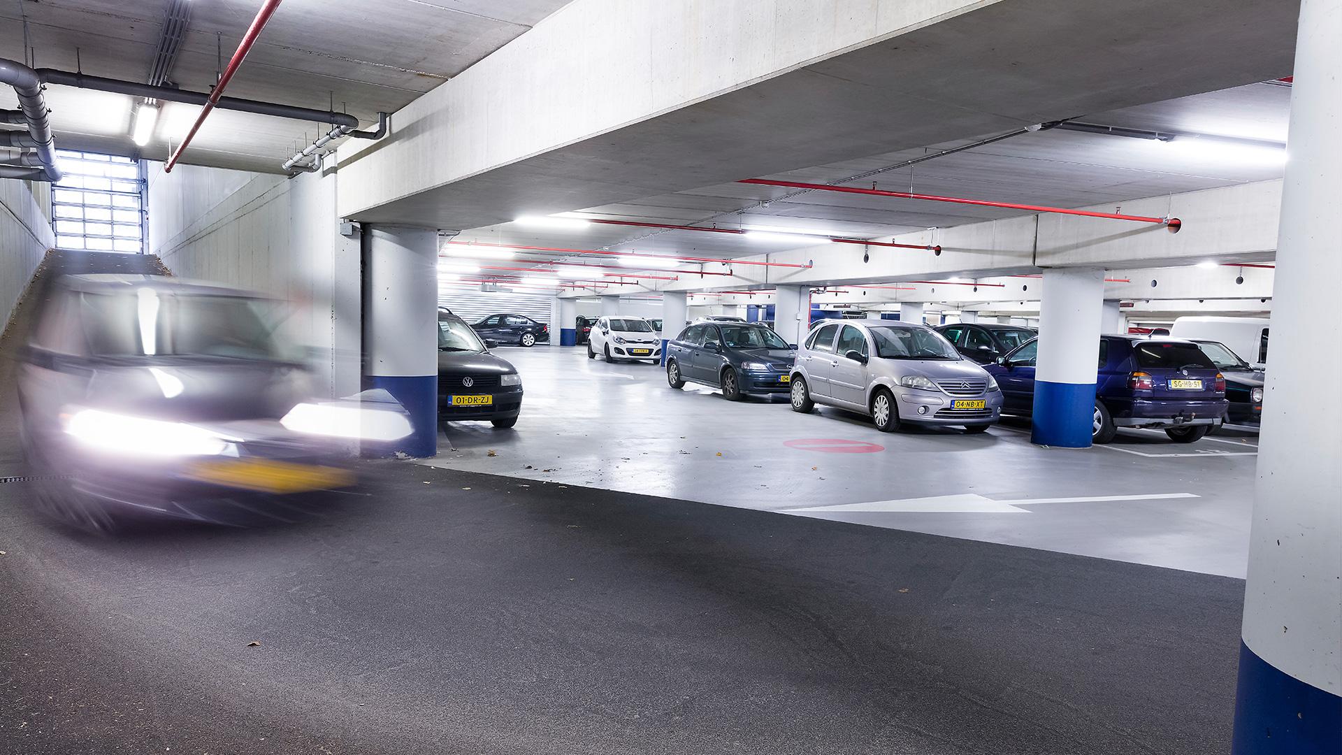 Bribus - Parkeergarage