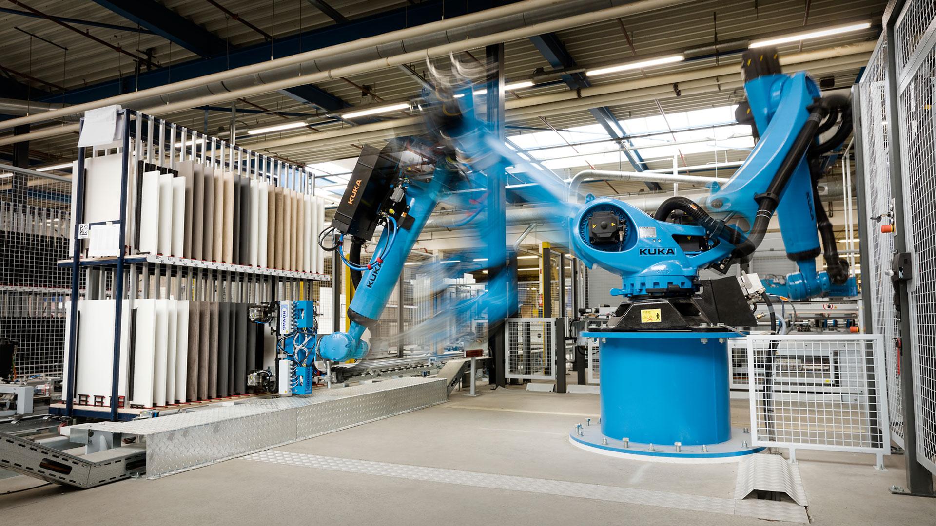 Bribus innoveert: nieuwe frontenboor robot