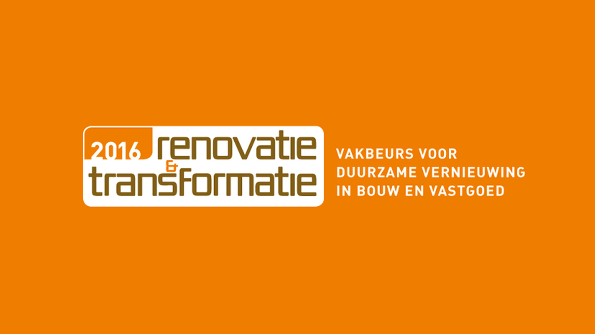 Bribus op Renovatie & Transformatie 2016