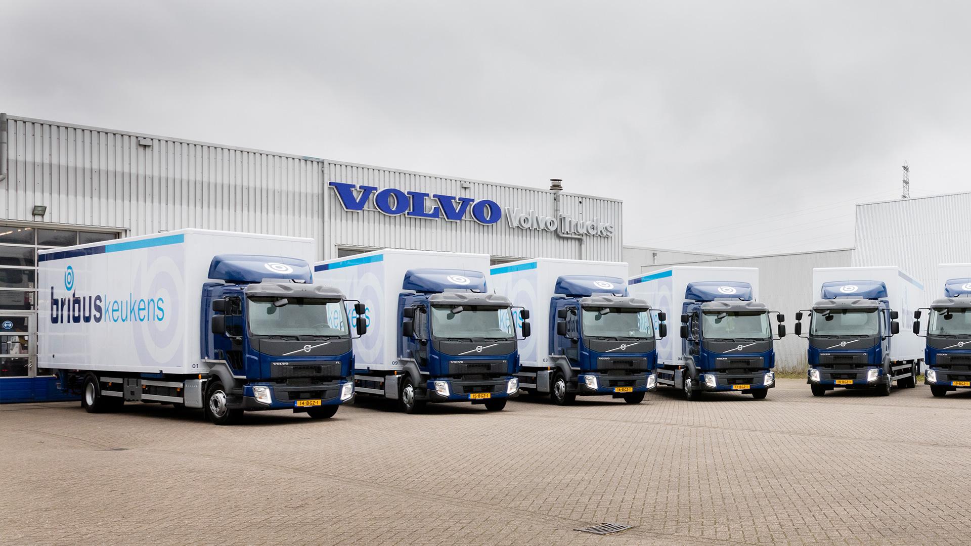Nieuwe milieuvriendelijke vrachtwagens