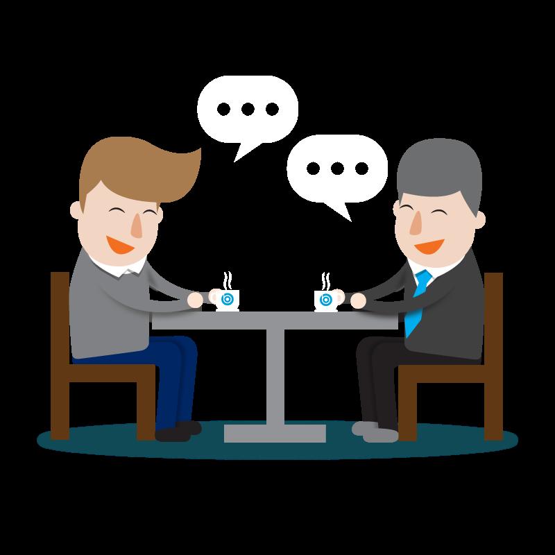 Stap 3: Het eerste gesprek