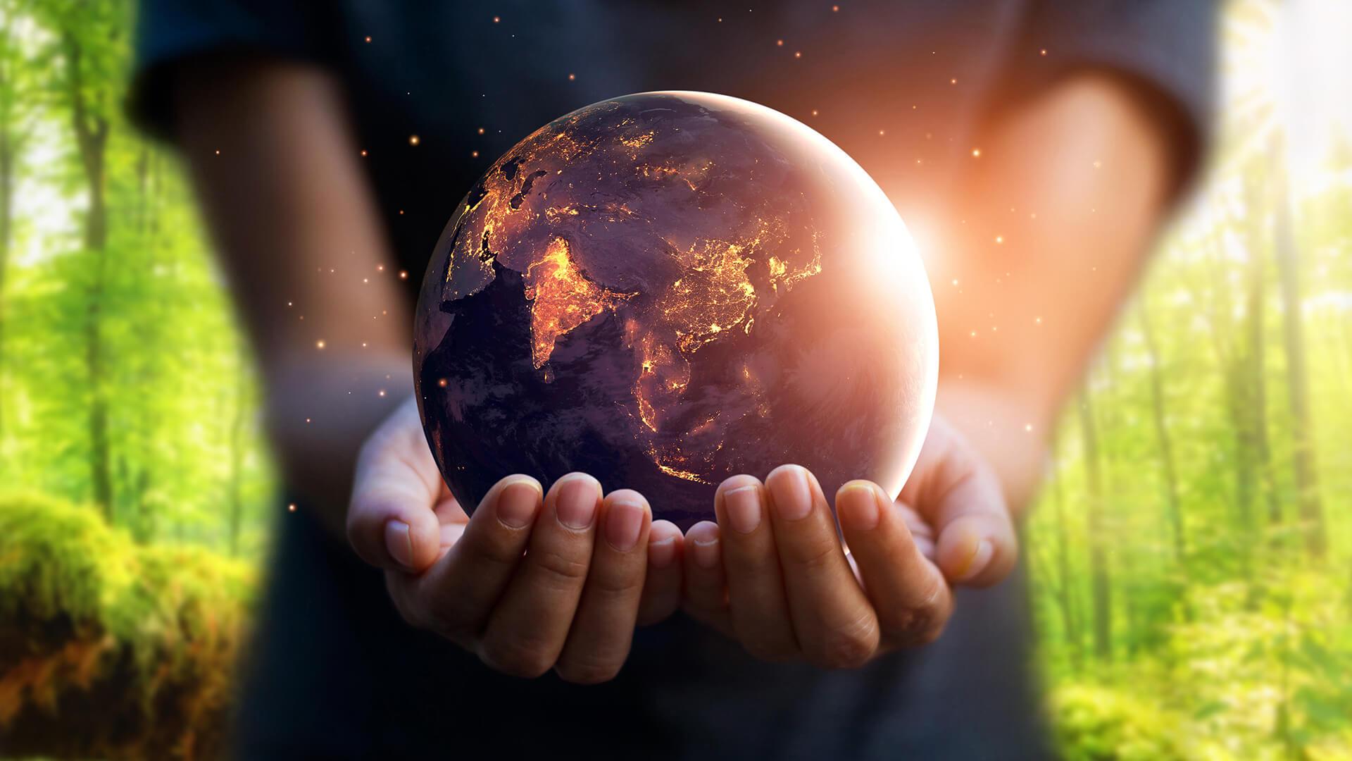 wereldbol - Duurzame keukens