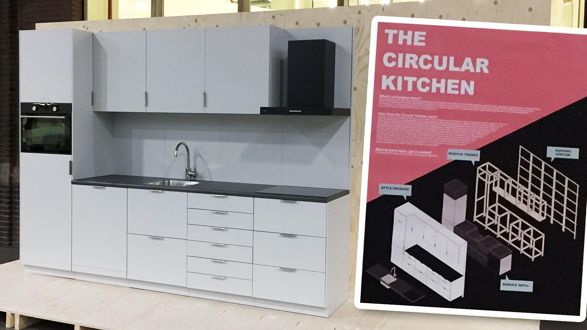 De circulaire keuken van de TU Delft en Bribus
