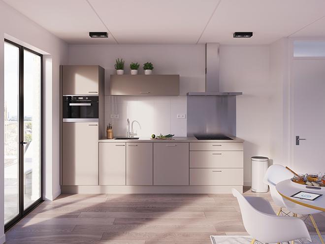Bribus keuken - keukenontwerp Keukenontwerp 012902 - Studio B