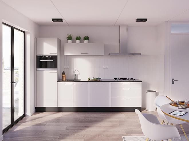 Bribus keuken - keukenontwerp Keukenontwerp 012905 - Studio B