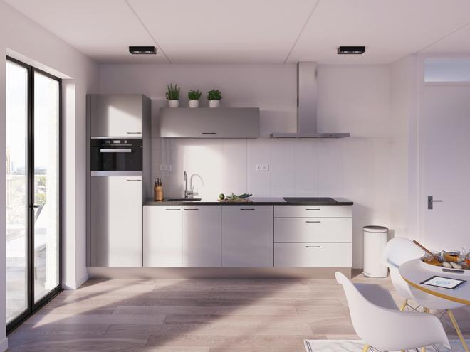 Bribus keuken - keukenontwerp Keukenontwerp 012910 - Studio B