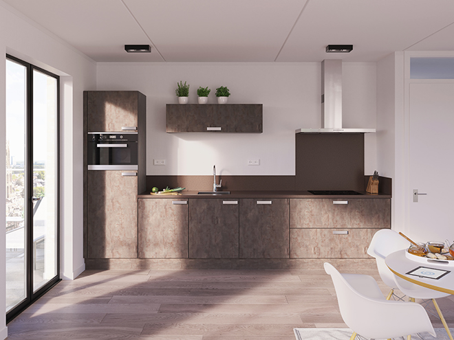 Bribus keuken - keukenontwerp Keukenontwerp 013006 - Studio B