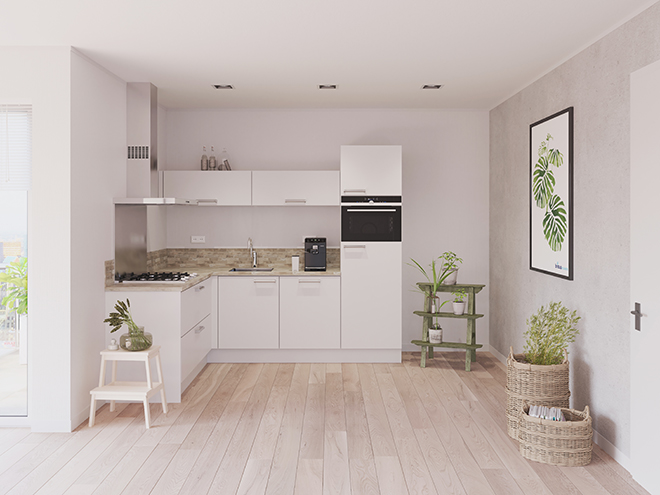 Bribus keuken - keukenontwerp Keukenontwerp 023301 - Studio B