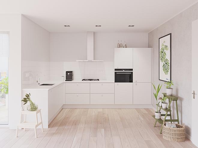 Bribus keuken - keukenontwerp Keukenontwerp 023505 - Studio B