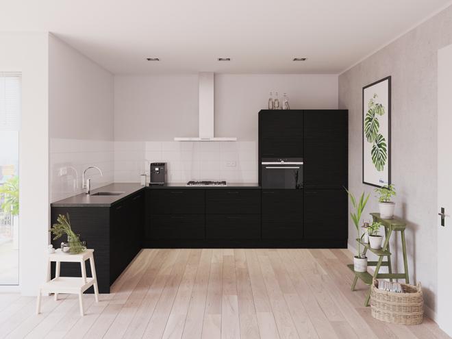 Bribus keuken - keukenontwerp Keukenontwerp 023509 - Studio B