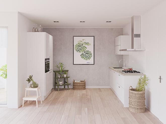 Bribus keuken - keukenontwerp Keukenontwerp 023601 - Studio B