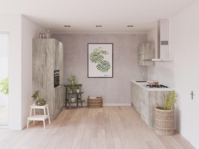 Bribus keuken - keukenontwerp Keukenontwerp 023607 - Studio B