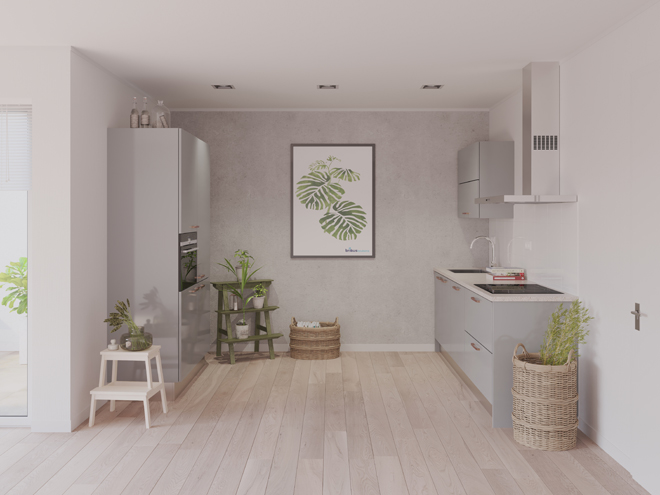 Bribus keuken - keukenontwerp Keukenontwerp 023610 - Studio B