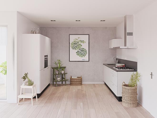 Bribus keuken - keukenontwerp Keukenontwerp 023701 - Studio B