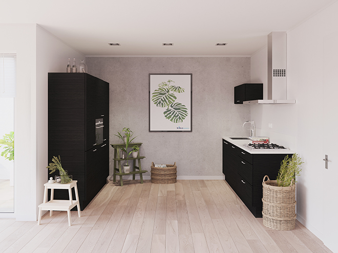 Bribus keuken - keukenontwerp Keukenontwerp 023707 - Studio B