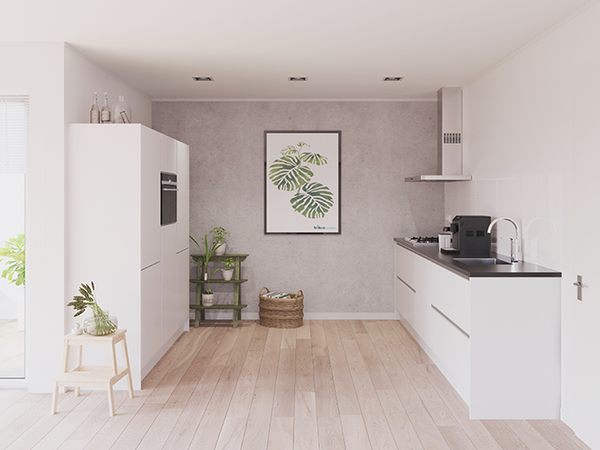 Bribus keuken - keukenontwerp Keukenontwerp 023805 - Studio B