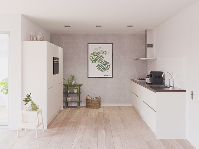 Bribus keuken - keukenontwerp Keukenontwerp 023807 - Studio B