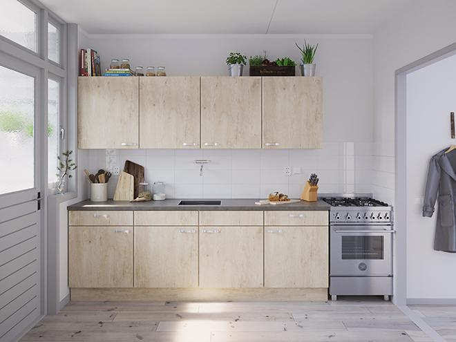 Bribus keuken - keukenontwerp Keukenontwerp 031203 - Studio B