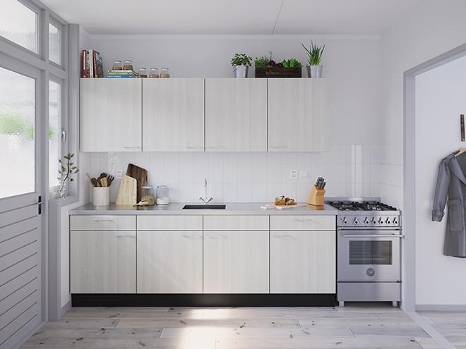 Bribus keuken - keukenontwerp Keukenontwerp 031206 - Studio B