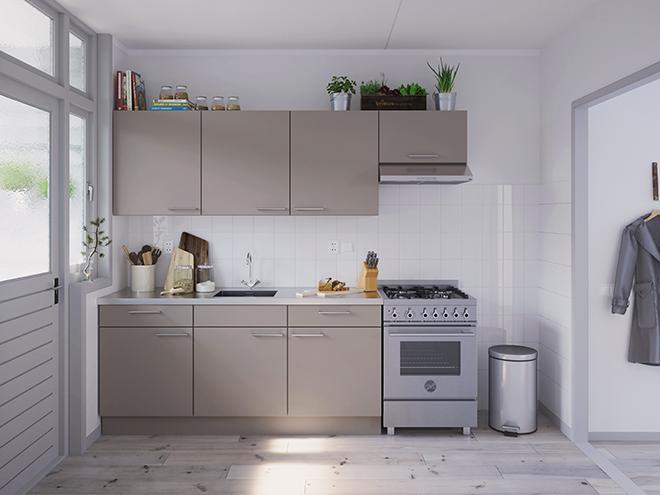 Bribus keuken - keukenontwerp Keukenontwerp 031505 - Studio B
