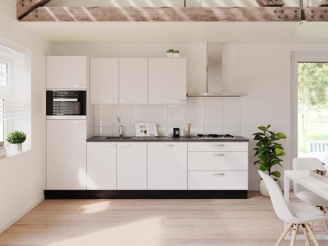 Bribus keuken - keukenontwerp Keukenontwerp 064401 - Studio B