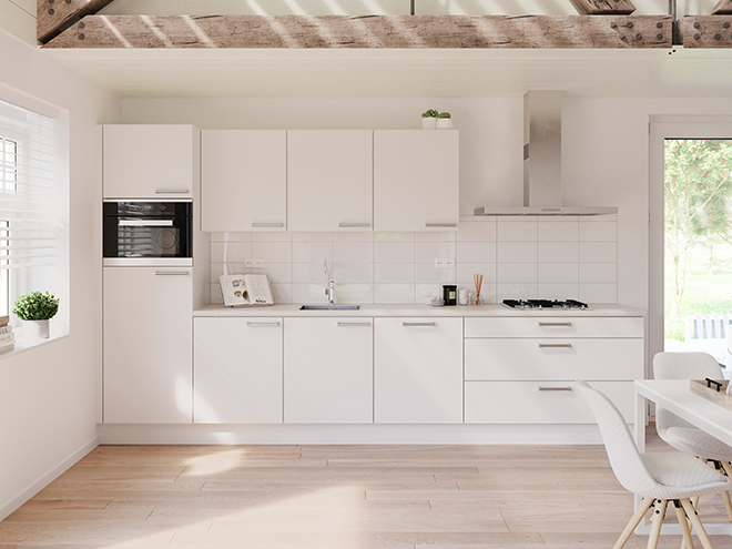 Bribus keuken - keukenontwerp Keukenontwerp 064501 - Studio B