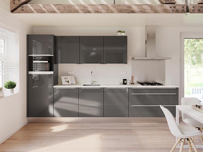 Bribus keuken - keukenontwerp Keukenontwerp 064504 - Studio B