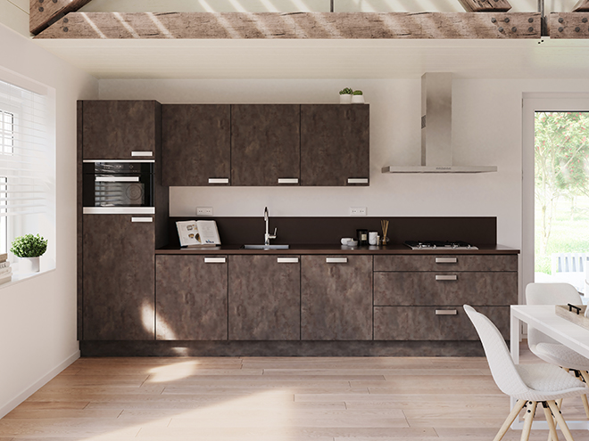 Bribus keuken - keukenontwerp Keukenontwerp 064506 - Studio B