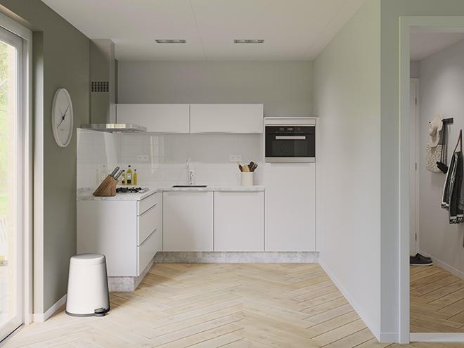 Bribus keuken - keukenontwerp Keukenontwerp 074601 - Studio B