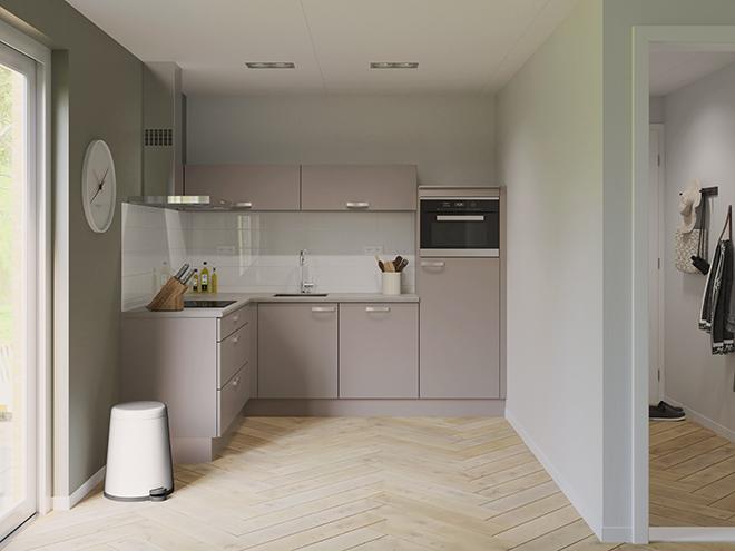 Bribus keuken - keukenontwerp Keukenontwerp 074602 - Studio B