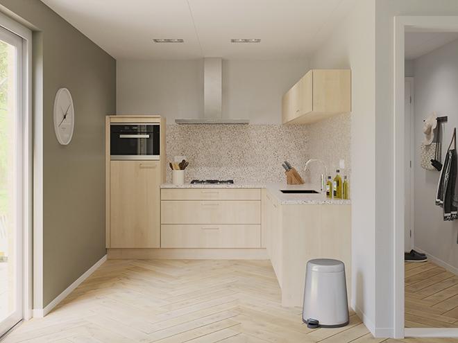 Bribus keuken - keukenontwerp Keukenontwerp 074707 - Studio B