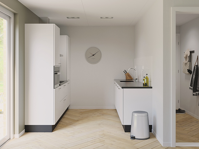 Bribus keuken - keukenontwerp Keukenontwerp 075101 - Studio B