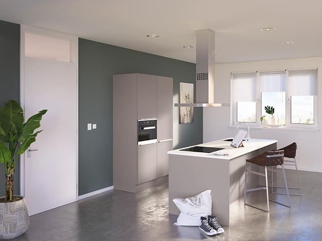 Bribus keuken - keukenontwerp Keukenontwerp 085202 - Studio B