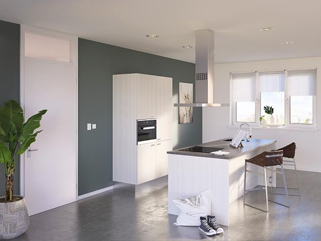 Bribus keuken - keukenontwerp Keukenontwerp 085203 - Studio B