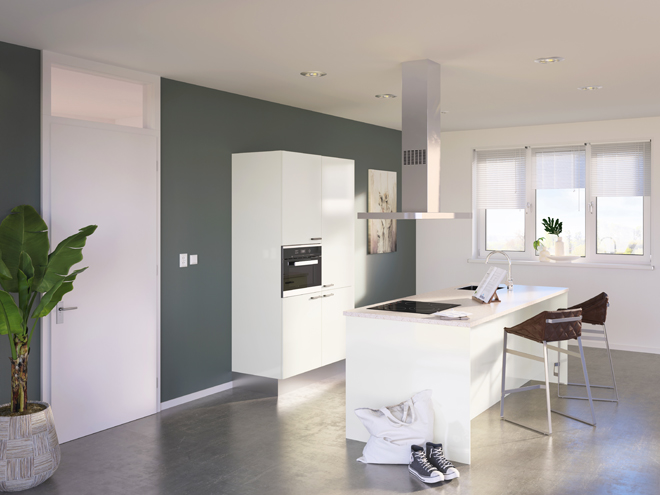 Bribus keuken - keukenontwerp Keukenontwerp 085210 - Studio B