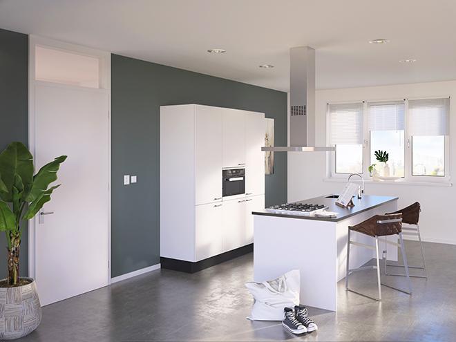 Bribus keuken - keukenontwerp Keukenontwerp 085305 - Studio B