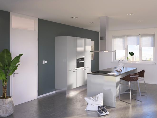 Bribus keuken - keukenontwerp Keukenontwerp 085309 - Studio B