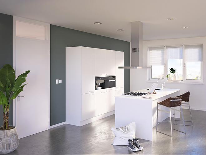 Bribus keuken - keukenontwerp Keukenontwerp 085401 - Studio B
