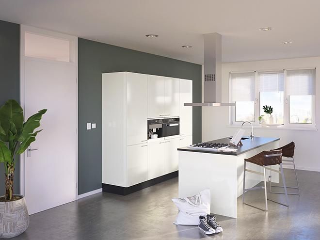 Bribus keuken - keukenontwerp Keukenontwerp 085404 - Studio B