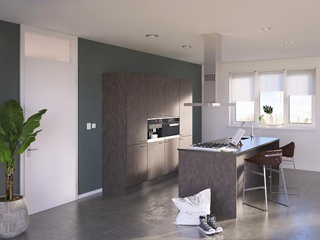 Bribus keuken - keukenontwerp Keukenontwerp 085406 - Studio B