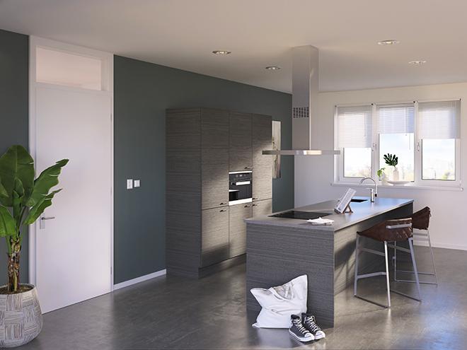 Bribus keuken - keukenontwerp Keukenontwerp 085503 - Studio B