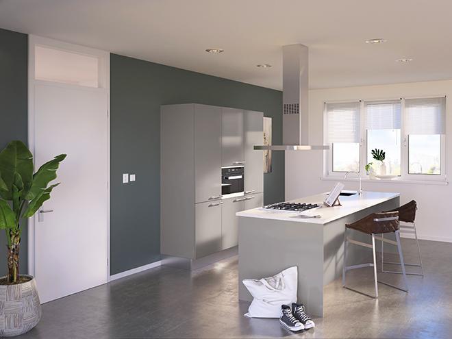Bribus keuken - keukenontwerp Keukenontwerp 085504 - Studio B