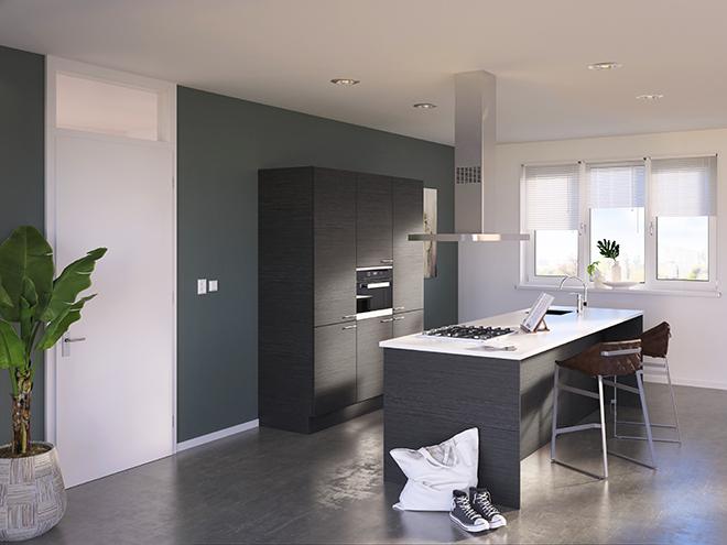 Bribus keuken - keukenontwerp Keukenontwerp 085507 - Studio B