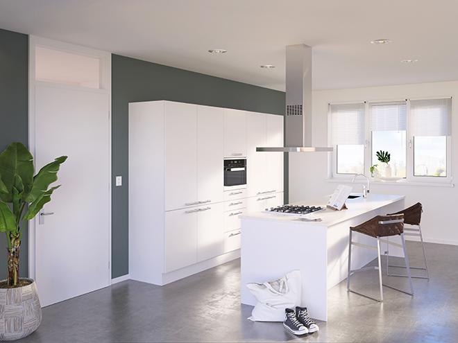 Bribus keuken - keukenontwerp Keukenontwerp 085601 - Studio B
