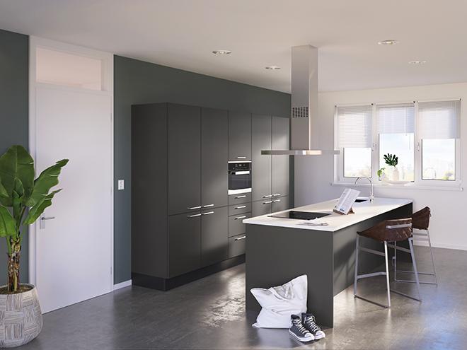 Bribus keuken - keukenontwerp Keukenontwerp 085602 - Studio B