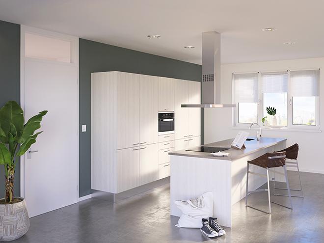 Bribus keuken - keukenontwerp Keukenontwerp 085603 - Studio B