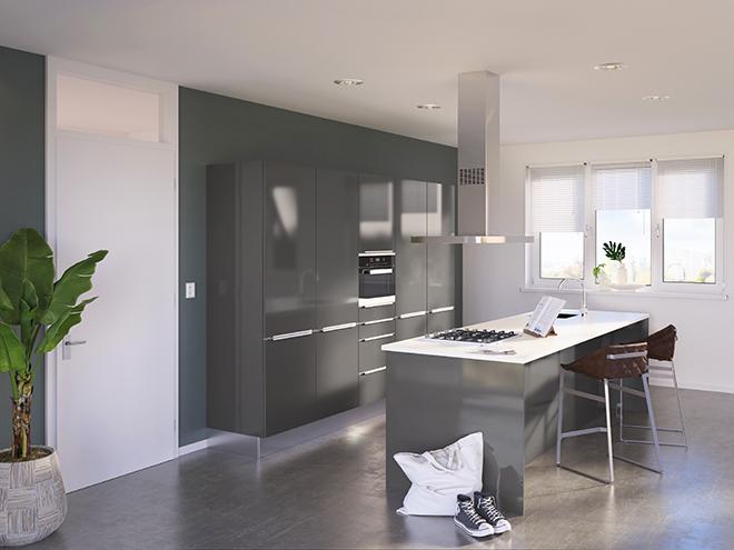 Bribus keuken - keukenontwerp Keukenontwerp 085604 - Studio B
