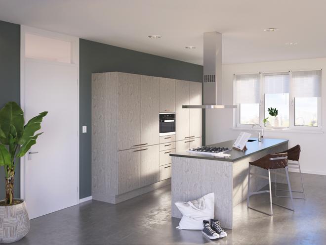 Bribus keuken - keukenontwerp Keukenontwerp 085609 - Studio B
