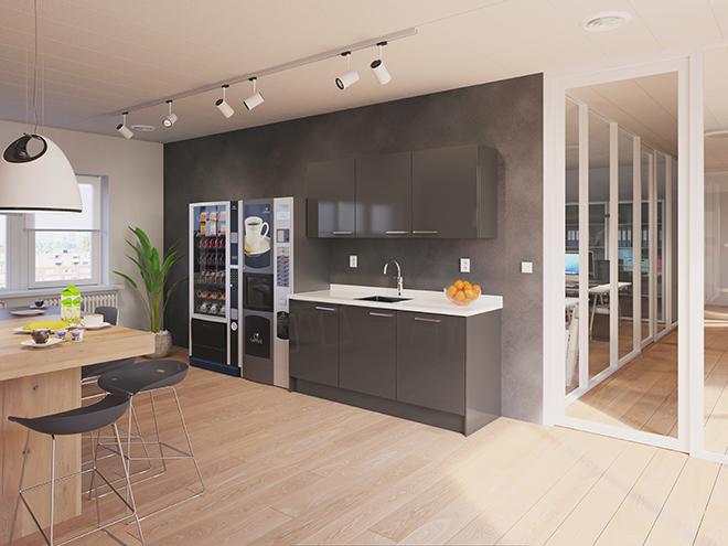 Bribus keuken - keukenontwerp Keukenontwerp 110108 - Studio B