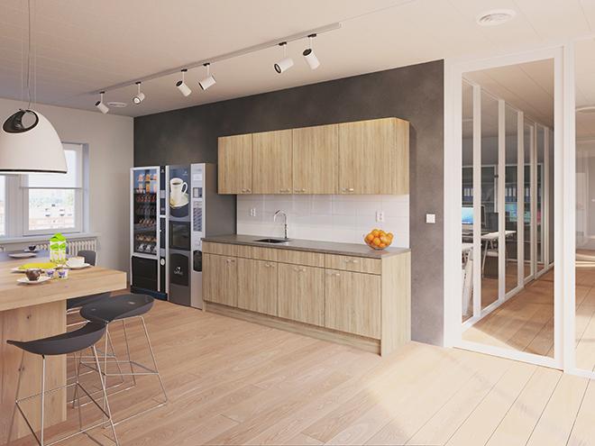 Bribus keuken - keukenontwerp Keukenontwerp 110203 - Studio B